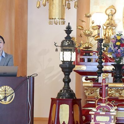 4/21に正光寺で講演をしてきました MAStaion(エムエーステーション)